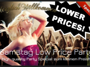 "SAMSTAG ""LOW-PRICE SCHNUPPERPREIS"" REPETITION"