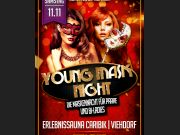 Österreich Young Couple Mask Night PAARE
