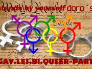 Stands by yourself - GAY.LES.BI.QUEER-PARTY