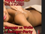 Massageabend & Happy Hour Swingerparty