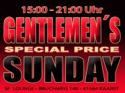 ☆ GENTLEMEN´S SPECIAL SUNDAY ☆